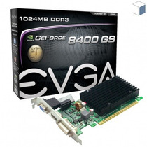 Placa Vga Geforce 8400gs 1gb Evga Pci-e 2.0 01g-p3-1303-kr