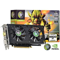Placa De Video Geforce Nvidia 9800 Gt 1gb Gddr3 256 Bits Du