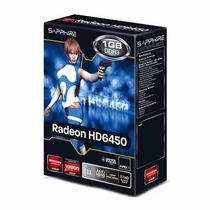 Placa De Vídeo Vga Radeon Hd6450 1gb Ddr3 Sapphire Lp