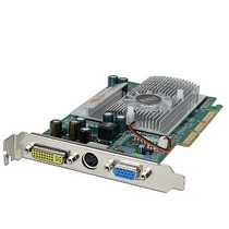 Placa De Video Forsa Agp 256 Mb 128 Bit Geforce Fx 5500 - C
