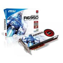 Placa De Video Radeon Msi R6950 Gddr5 5000 Mhz, 2g, 256 Bits