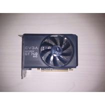 Placa De Video Gamer Pcie Geforce Gt740sc 2gb Ddr3 128 Bit