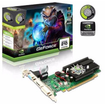 Placa De Vídeo Geforce Gt 210 1gb Ddr 3 Nvidia