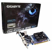 Placa De Vídeo Vga Gigabyte Geforce Gt210 1gb Ddr3 Pci-e