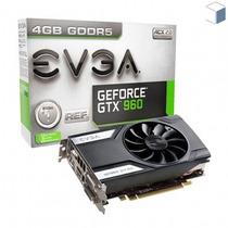 Vga Evga Geforce Gtx960 4gb Lacrado Opengl 4.4 Envio Grátis