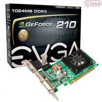 Placa Vga Evga Geforce Gt 210 Gddr3 Pci-e 1gb Envio Grátis