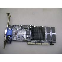 Placa De Vídeo Geforce 2 Mx400 64bit Agp 64 Mb