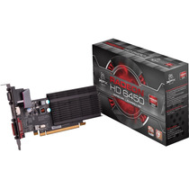 Placa De Vídeo Xfx Radeon Hd6450 2gb Hdmi Dvi Vga Pciexpress