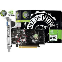 Placa Video Nvidia Geforce Gt210 1gb Ddr2 Hdmi Com Cooler