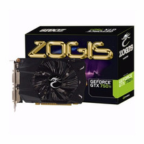 Placa De Vídeo Vga Zogis Geforce Gtx750ti 2gb Ddr5 128bits