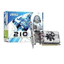 Placa De Vídeo Nvidia Gt210 1gb - Msi - Vga / Dvi / Hdmi