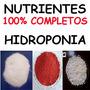 100% Completo Fertilizante Hidropônico Hortaliças Em Geral