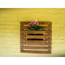 Floreira Em Madeira De Demolição - 100% Peroba Rosa
