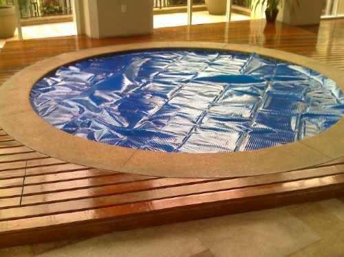 Plastico bolha para piscinas r 11 40 no mercadolivre for Piscinas cuadradas de plastico