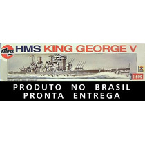 Navio Encouraçado King George V 1/600 Airfix Kit Tipo Revell