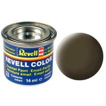 Tinta Esmalte Preto Esverdeado Fosco 14ml - 32140 - Revell