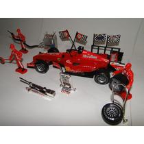 Equipe E Carro Formula 1 Vermelho Escala 1/18
