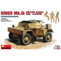 Miniart-blindado Dingo Mk.ib British Scout With Crew