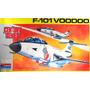Caça F-101 B Voodoo Plastimodelismo Kit Revell Monogram 1/48