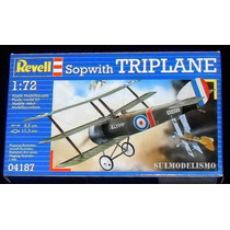 Caça Inglês Primeira Guerra Sopwith Triplane Kit Revell 1/72
