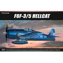 Avião F6f-3/5 Hellcat Academy 1/72 Kit Tipo Revell E Tamiya