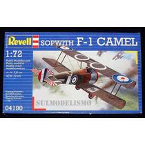 Caça Inglês Primeira Guerra Sopwith Camel - Kit Revell 1/72
