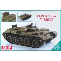 Skif Models-tanque Russo T-55c2 Favorit - Versão De Treiname