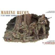 Dragon U.s. Marine Recon Team 1/35