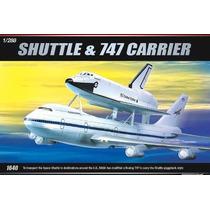 Onibus Espacial E Avião 747 Academy 1/288 Kit Tipo Revell