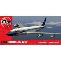 Avião Boeing 707 1/144 Airfix Kit Tipo Revell E Tamiya
