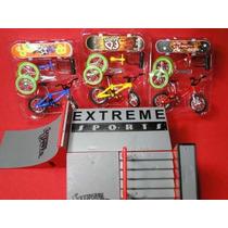 Sbego Kit Pista 03 Skates & 03 Bikes + Acessorios Extreme