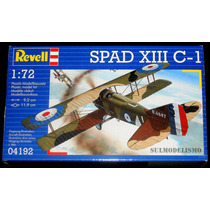 Caça Francês Primeira Guerra Spad Xlll C-1 - Kit Revell 1/72