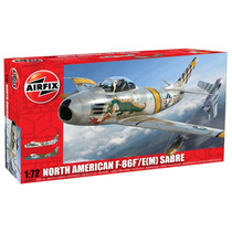 Avião F-86 F/e(m) Sabre 1/72 Airfix Kit Tipo Revell E Tamiya