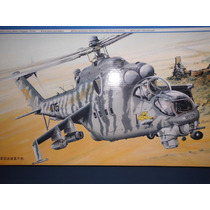 Mil Mi-24 V Hind-e Helicopter 1/35 Trumpeter