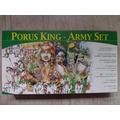 Porus King - Exército Indiano Medieval Figuras Diorama 1/72