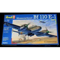 Caça Bimotor Alemão Segunda Guerra Bf-110 E Kit 1/72 Revell