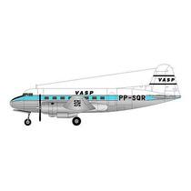 Avião Vasp Saab-90 Scandia