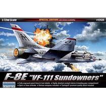 Academy - Avião F-8 Crusader - Vf-111 Sundowners