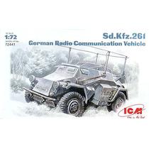 Tanque Blindado Sd.kfz.261 German Radio 1/72 Icm Tipo Revell