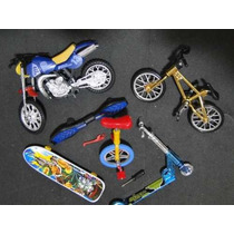 Pista Skate Dedo Bicicleta Motocicleta Patinete