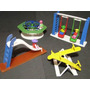 Miniatura Parque Diversão Com Bonecos Modelo Playmobil Lego
