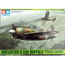 Avião Brewster Buffalo B339 1/48 Tamiya Kit Tipo Revell