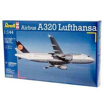 Kit Revell Para Montar Airbus A320 Lufthansa 1:144