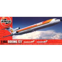 Avião Boeing 727 200 Airfix Kit Escala 1/144 Plastimodelismo