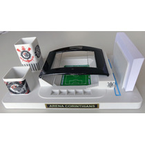 Miniatura Arena Corinthians Em Porta Canetas
