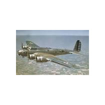 Maquete B-17c Fortaleza Voadora