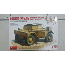 Dingo Mk.lb British Scout Car With Crew 1:35 Plastimodelismo