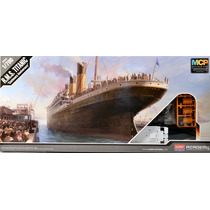 Navio Titanic Academy Kit Tipo Revell 1/700 C/ Cola
