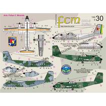 Decais 1/144 Fcm Para Dhc-5 C-115 Buffalo - Duas Versões Fab