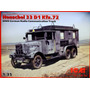 Henschel 33 D1 Kfz72 - Ww2 German Radio Communications Truck
